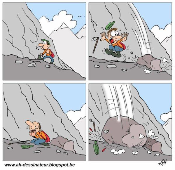 Chutes de pierre
