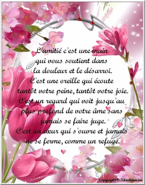 ♥ ♥ ♥  Amitié, Love ♥ ♥ ♥