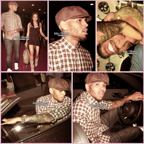 * 28 août : Christopher et Karrueche quittant le Supperclub à Hollywood. - Top ou flop? *