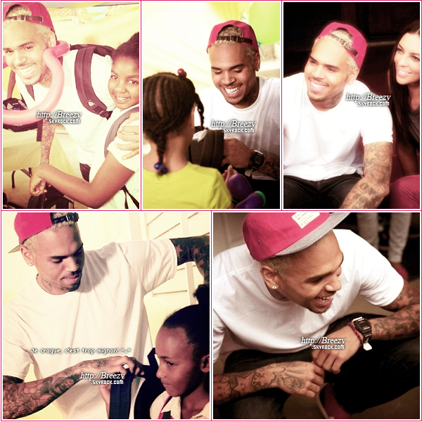 * 5 Septembre : Breezy au « Back To School Fall Festival » à Los Angeles. - Top ou flop? *