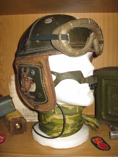 casque tankiste