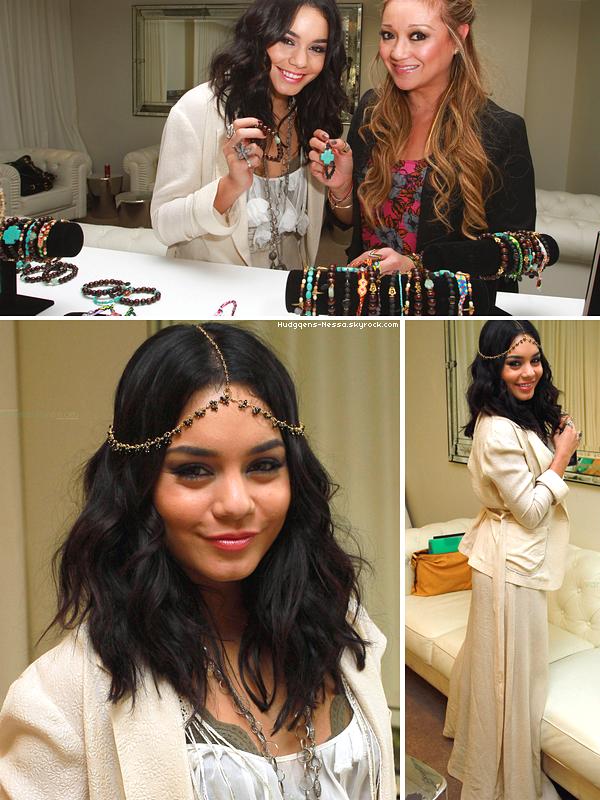 _ Apparence_ 25.02.11 - Vanessa essayant differents bijoux inspirés du film Beastly_ Mon avis tenue ₪ TOP