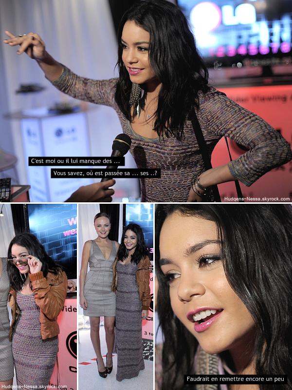 _ Apparence_ 26.02.11 - Et oui Vanessa sort beaucoup en ce moment ! Elle était hier à Santa Monica en Californie pour les Film Independent Spirit Awards, qui récompense les films américains indépendants._ _Mon avis tenue ₪ ?