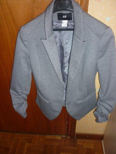 Blazer gris H&M taille 36