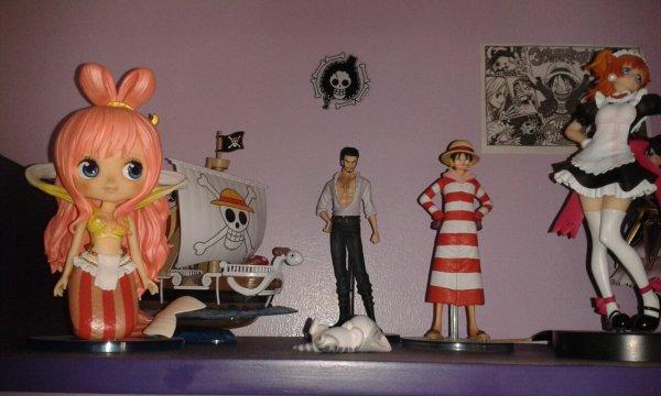 Mes Figurine, Manga, Marque page et autre !