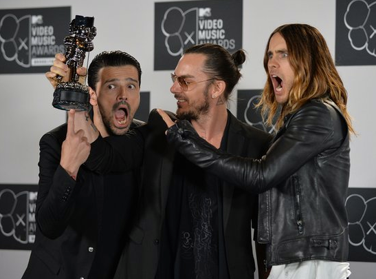 30 Seconds To Mars wins VMA's Best Rock
