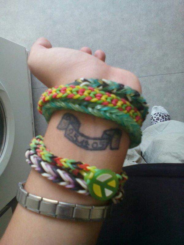 Mon deuxième tatoo aussi pour mon papa