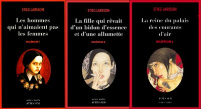 "Saga ""Millénium"" (Stieg Larsson)"