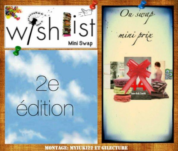 Mini-swap Wish-list 2 2012