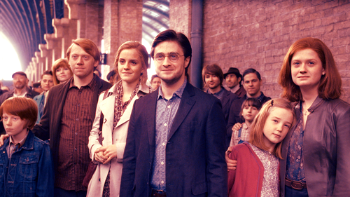 Evolution d'Hermione Granger au fil des tomes.