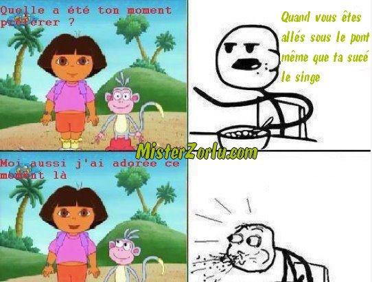 Trollface - Dora la cochonne !