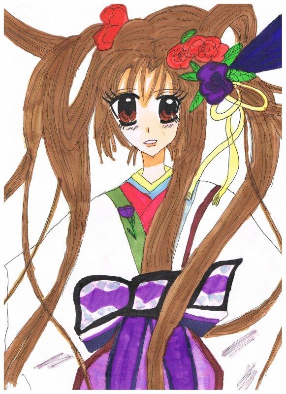 dessin ^^ Sakura ^^