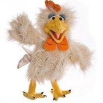 Une nouvelle marionnette pour 2016 ... Agatha la poule !