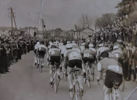 Critérium cycliste de St Claud Charente 1958