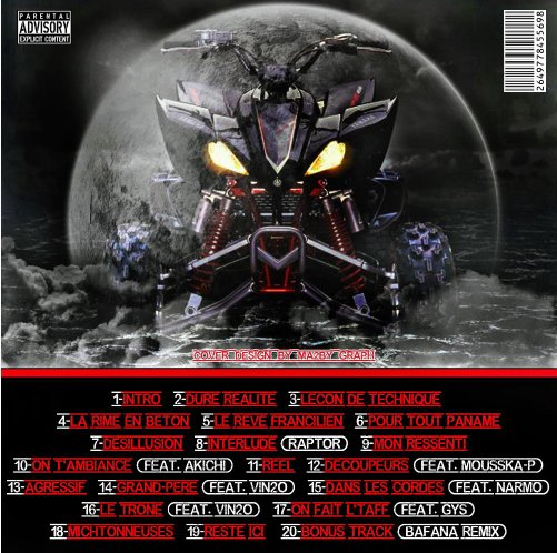 Raptor / Découpeurs (feat. Mousska-P) (2011)