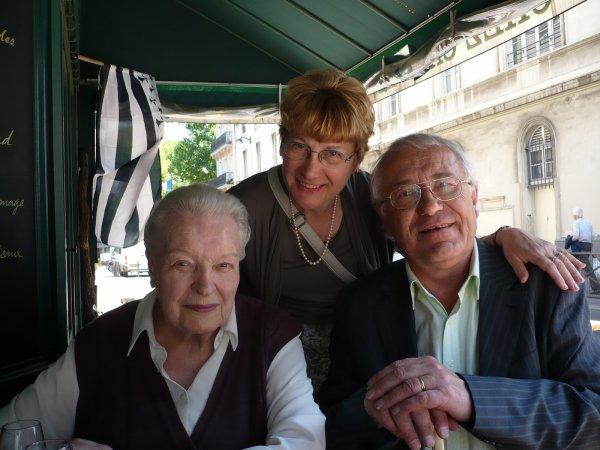 Rencontre avec Madeleine à Paris