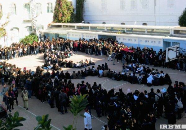 La grève du 8 janvier au LPBT ...