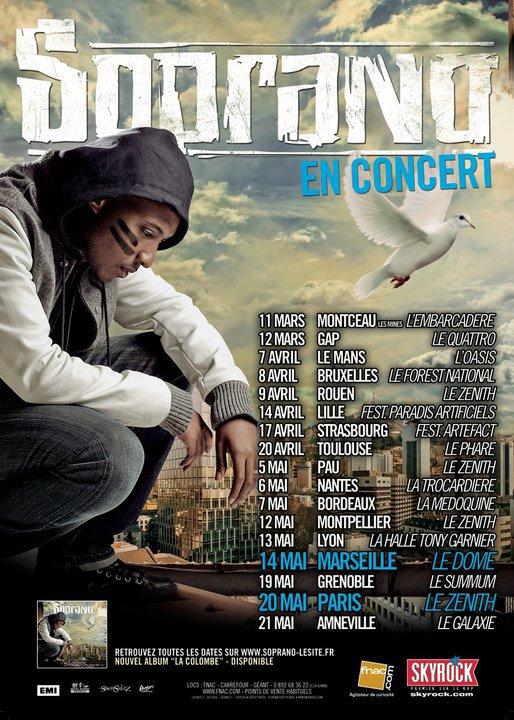 Soprano en concert  - Tournée Française