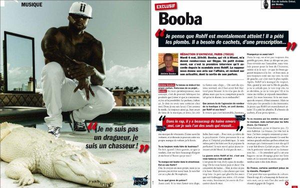 Booba en interview pour Entrevue