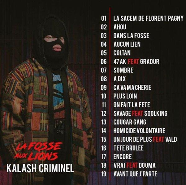 Kalash Criminel - La Fosse Aux Lions