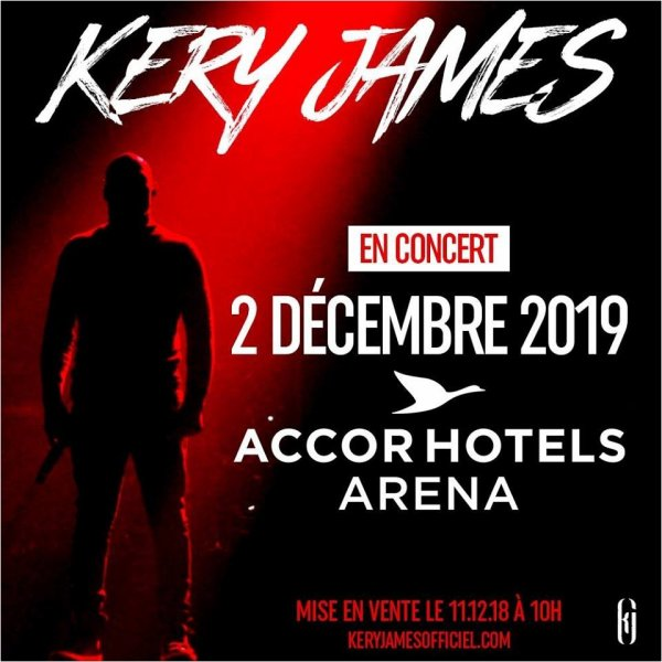 Kery James à l'AccorHotels Arena