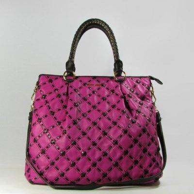 sac miu miu  réseau sac à bandoulière rose 85189
