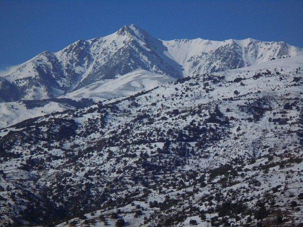 les montagnes de mon village