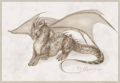 Dessin Dragons World