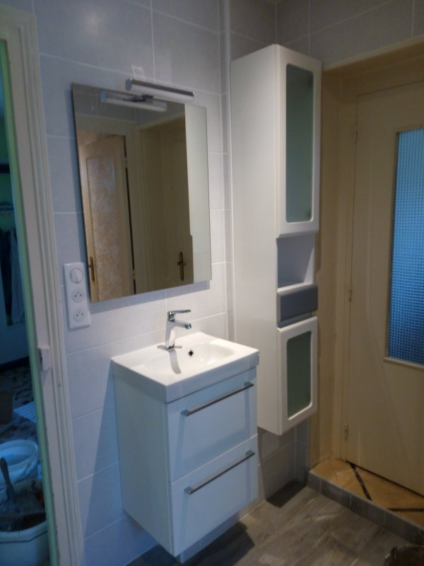Salle de bain complète fini ce soir photos 1
