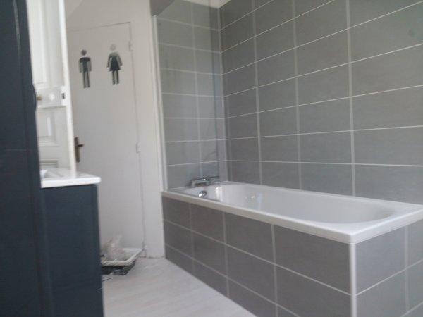 Suite salle de bain de trois jours