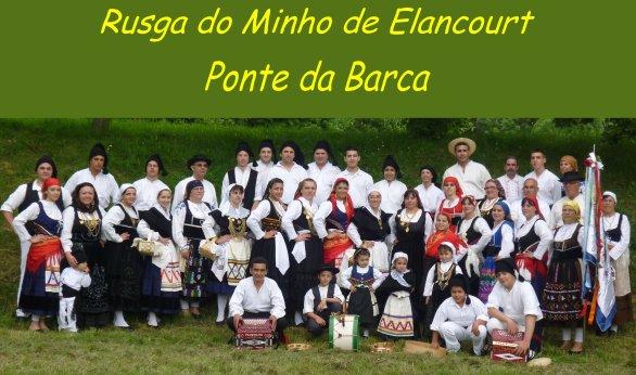 PLANNING DA RUSGA DO MINHO DE ELANCOURT - PONTE DA BARCA