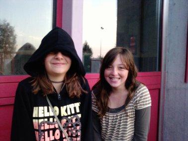 Molly et Megane