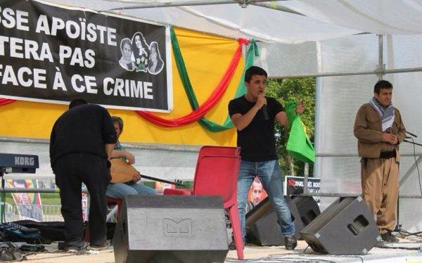 Peshmerga# concert 3 Militantes Kurdes