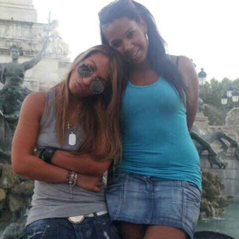 Tressia et Cindy