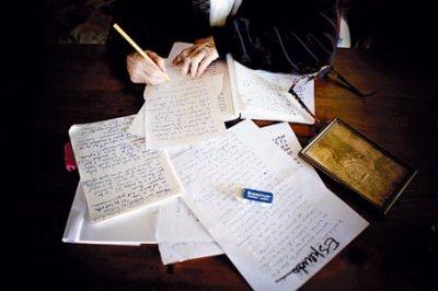 écrivain mystère