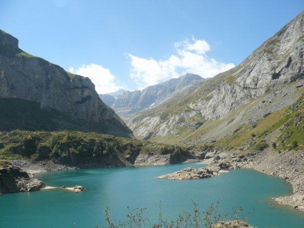 lac des gloriettes à 1700 m d'altitude
