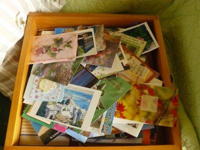 quelques jolies cartes reçues cet été