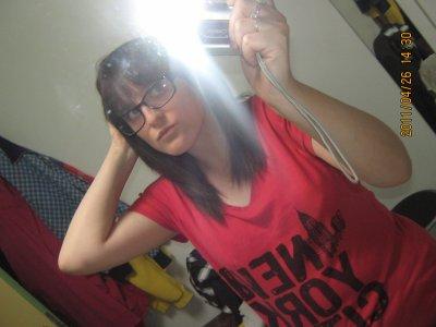 Moi avec mes lunettes !!
