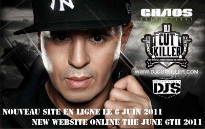 LE NOUVEAU SITE DJCUTKILLER.COM EN LIGNE LE LUNDI 06 JUIN 2011 A 19H!!!