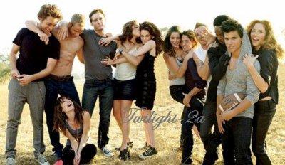Tous les acteurs de Twilight !!