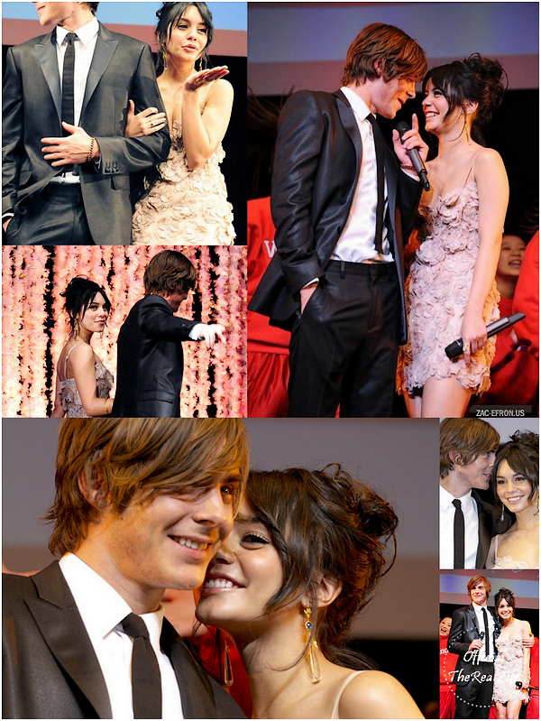 © Official-TheRealLife™  28/01/09  ※  Vanessa & Zac faisant la promotion du film High School Musical 3 au Japon.  _