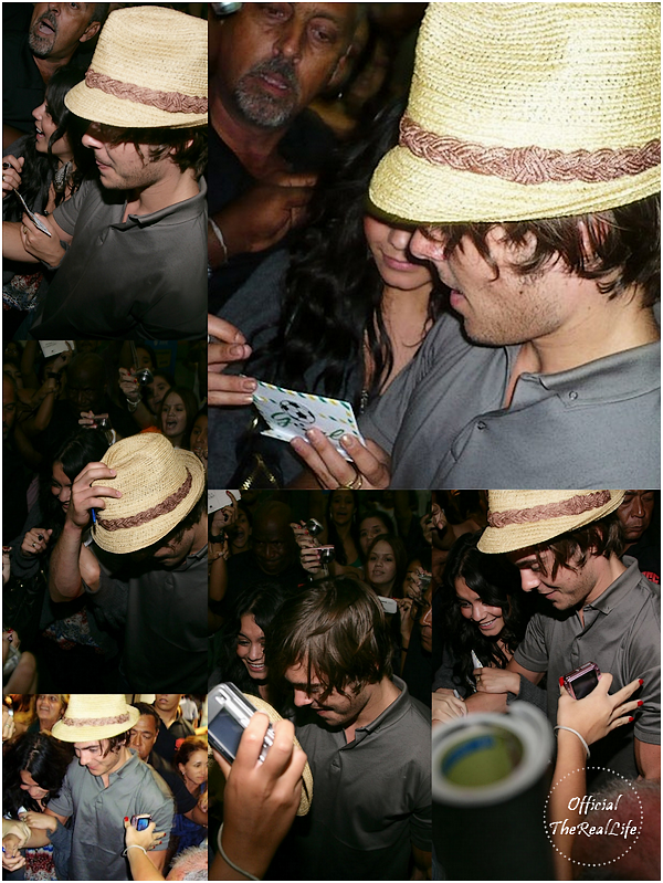 © Official-TheRealLife™  08/02/09  ※  Vanessa & Zac à l'aéroport Brésilien direction Los Angeles.  _