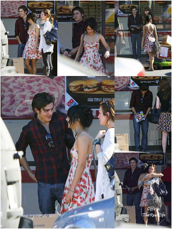 © Official-TheRealLife™  15/01/09  ※  Vanessa, Zac & Brittany Snow au restaurant Katsuya de Los Angeles.  _