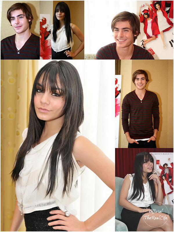 © Official-TheRealLife™  29/02/09  ※  Vanessa & Zac au Tower Record meet and greet au Japon + Photocall.  _