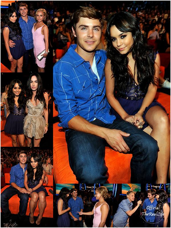 © Official-TheRealLife™  09/08/09  ※  Cérémonie des Teen Choice Award's - Los Angeles.  _
