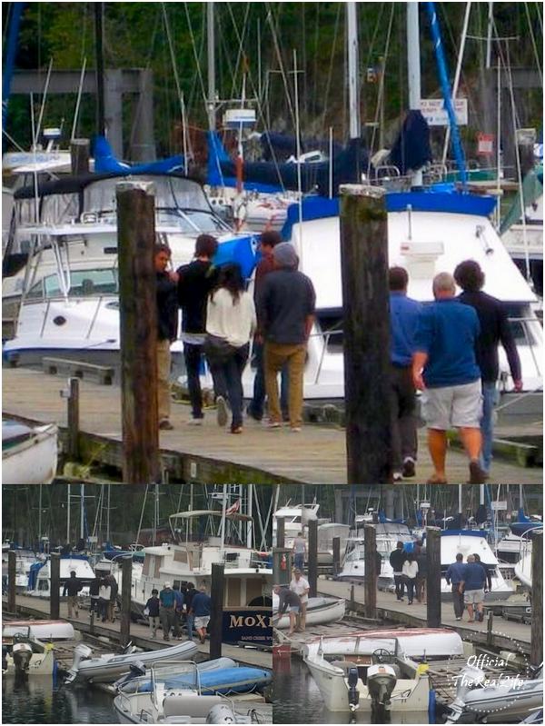© Official-TheRealLife™  03/10/09  ※  Zanessa apperçue sur le tournage de Charlie St.Cloud à Vancouver avec Dylan & M. Efron.  _