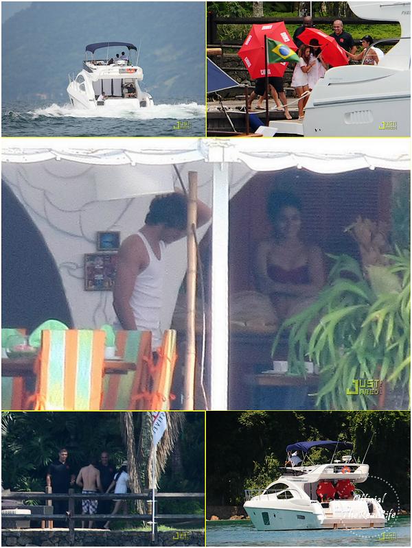 © Official-TheRealLife™  04/02/09 au 08/02/09  ※  Vanessa & Zac durant leurs vacances au Brésil.  _