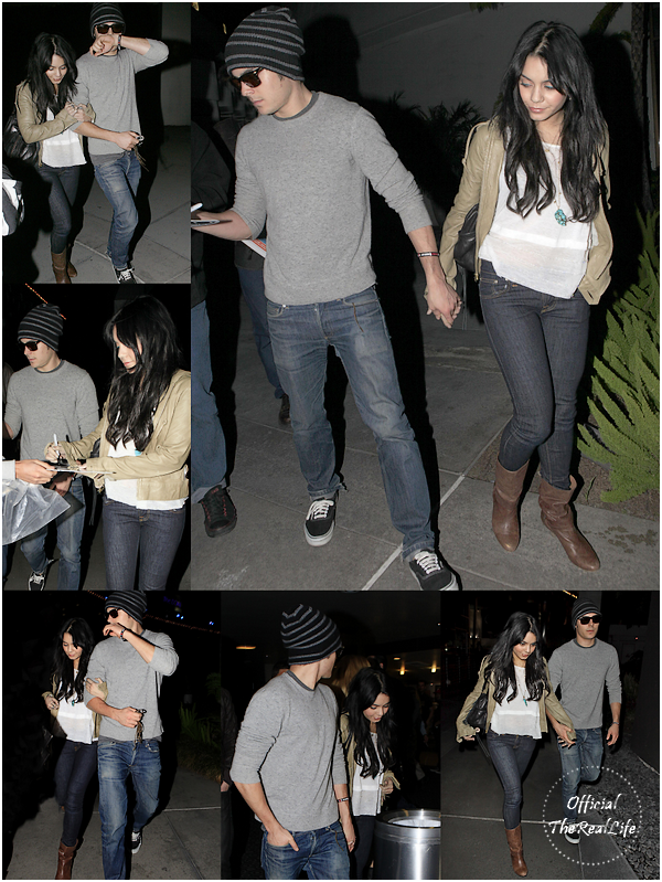© Official-TheRealLife™  03/01/10  ※  Zac et Vanessa une nouvelle fois photographier quittant un cinema dans Hollywood.  _