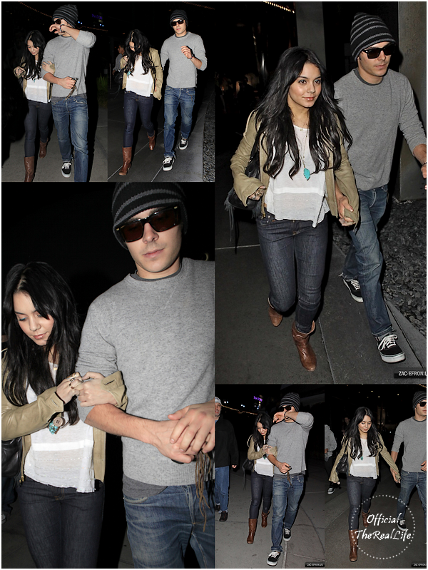 © Official-TheRealLife™  03/01/10  ※  Encore Zac et Vanessa quittant un cinema dans Hollywood.  _