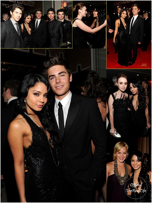 © Official-TheRealLife™  07/03/10  ※  Zac et Vanessa à la fête de l'after party Vanity Fair des Oscar à Los angeles.  _